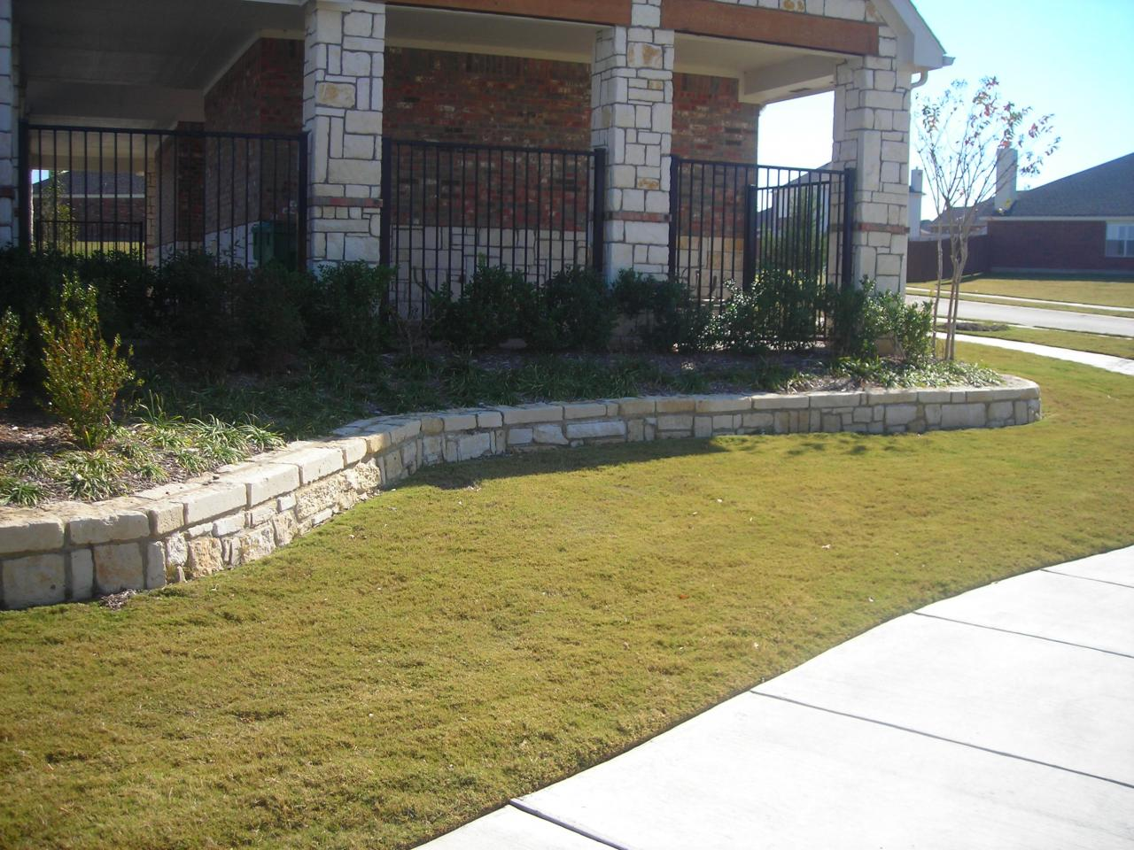 Dallas Retaining Walls and Fences - Photo Gallery